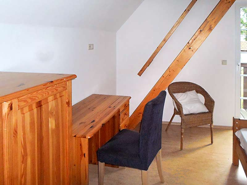 Appartment D Schalfzimmer 2